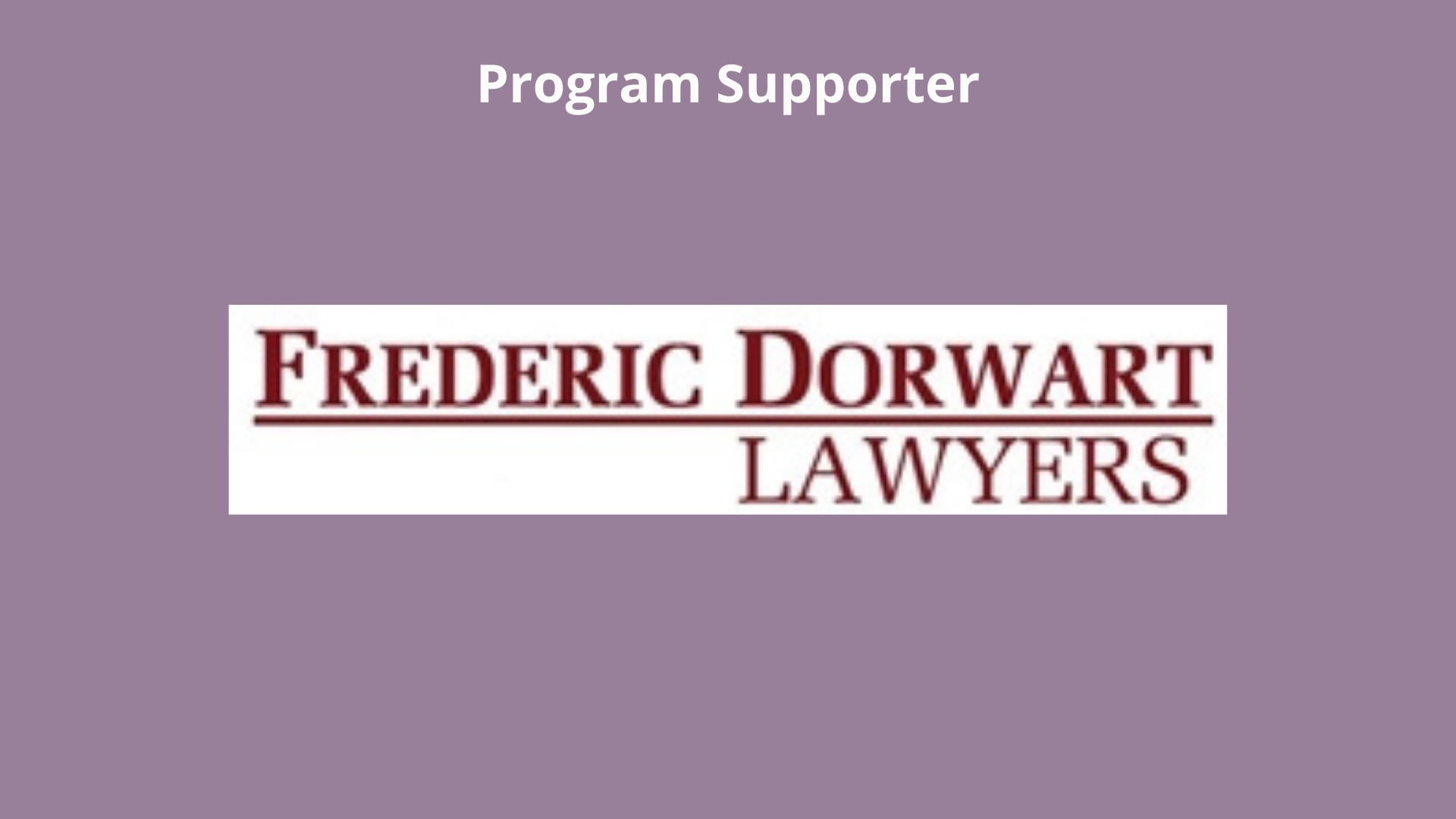 Frederic Dorwart Lawyers