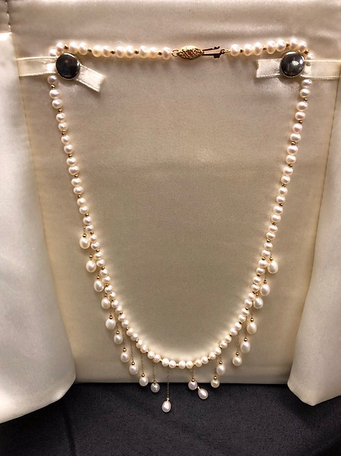 """14"""" Pearl Necklace"""