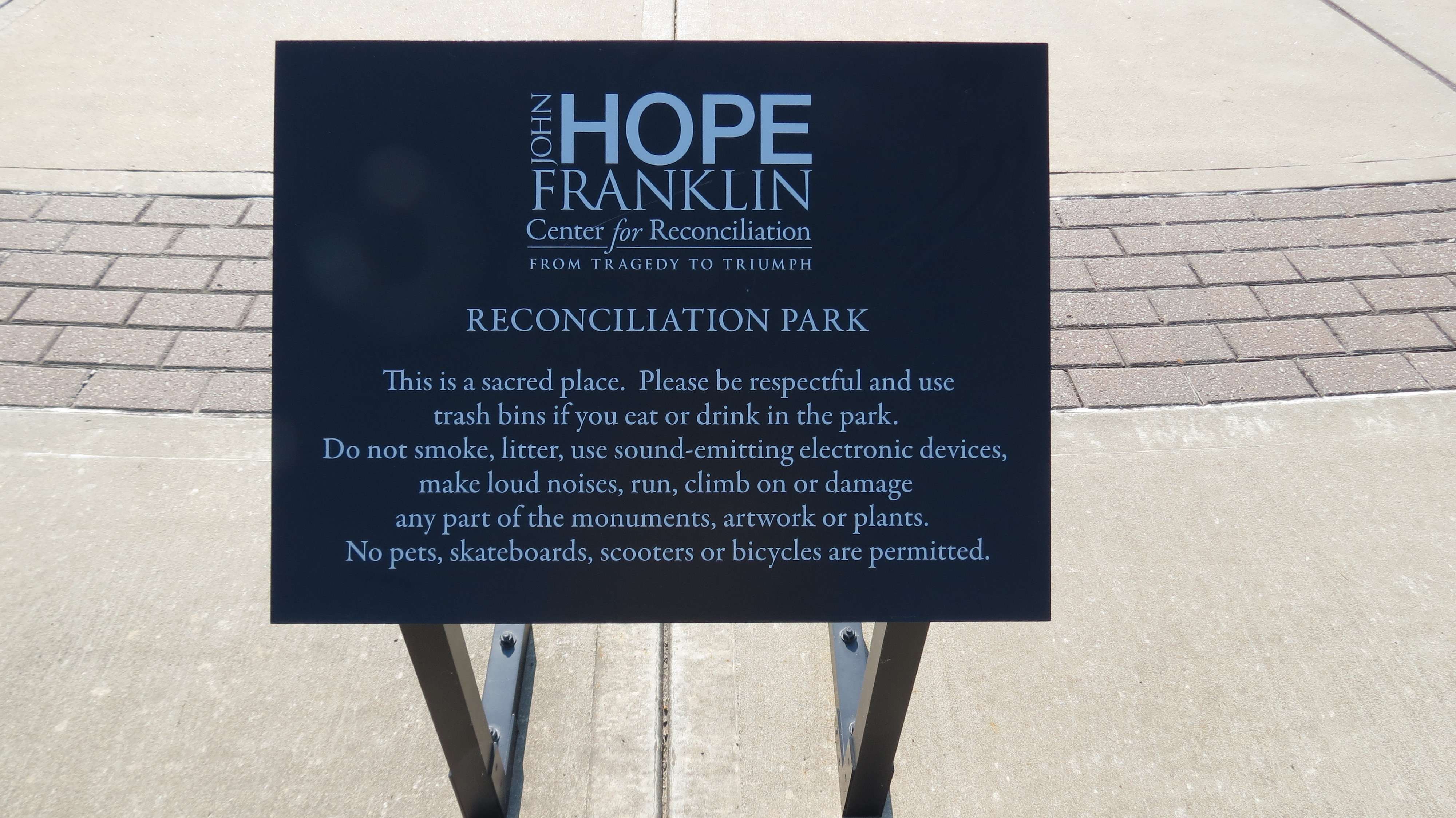 Sacred Place Sign