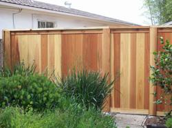 Wood fence San Diego