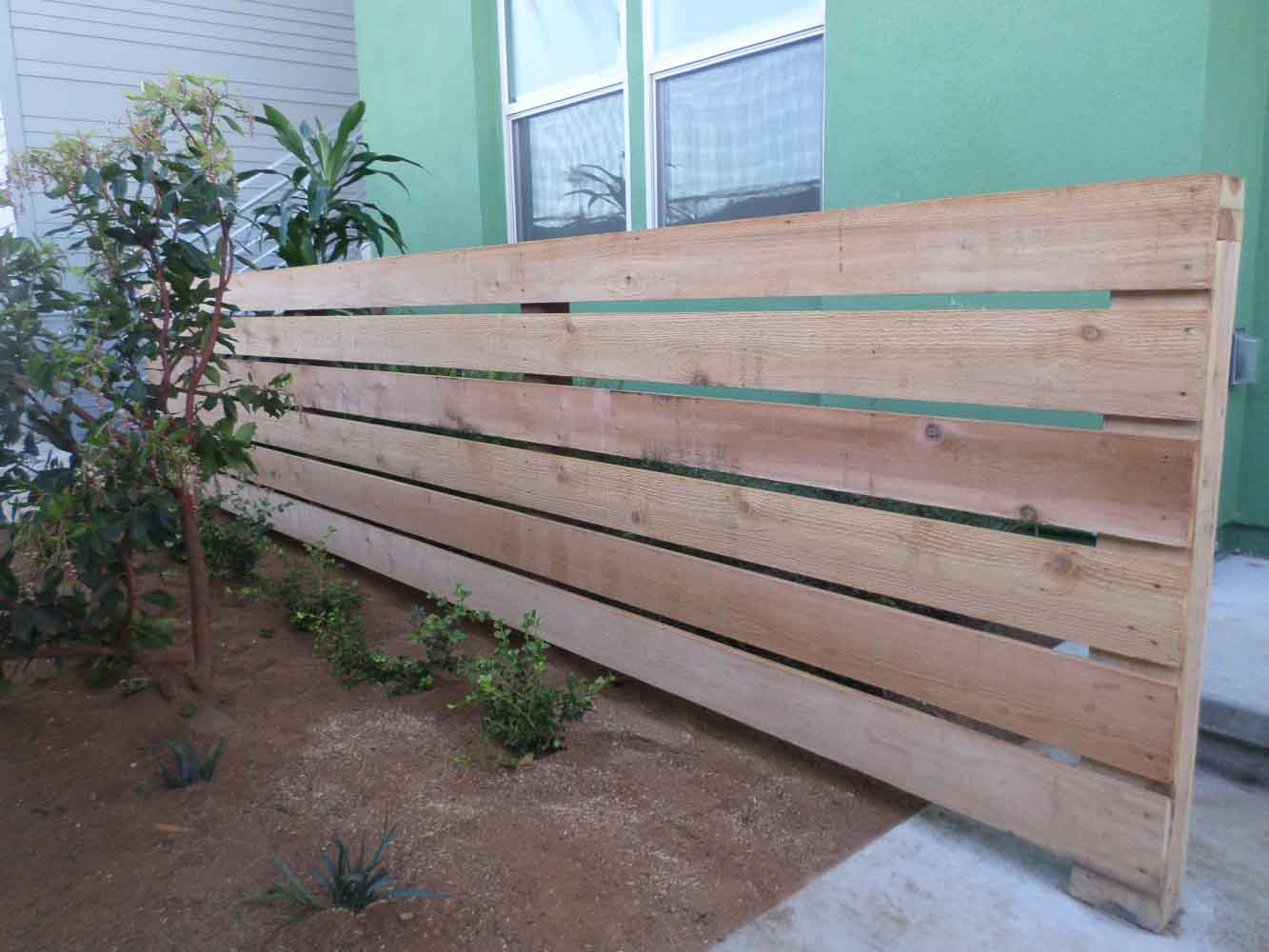 Wood Fence in San Diego