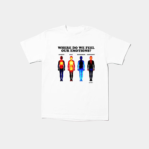 Our Emotions Tee (White)
