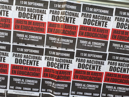 Septiembre: Mes de lucha y movilización de los Trabajadores