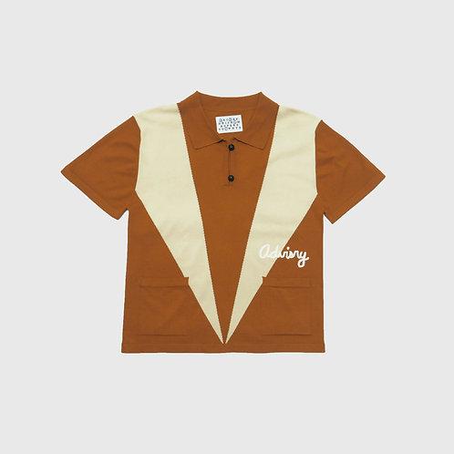 Burnt Orange Bowling Shirt