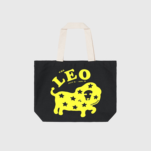Leo Sunsets Tote (Black)