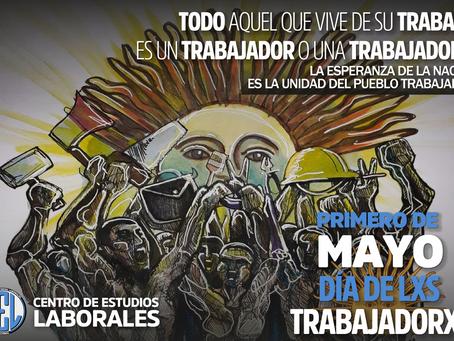 1RO. DE MAYO | Unidad y organización para la reconstrucción nacional