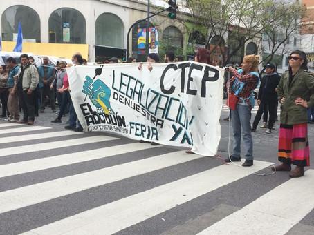 Feria popular de San Telmo exige que se proteja la Fuente Laboral