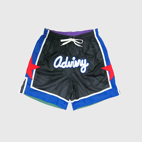 Reversible Swingman Shorts