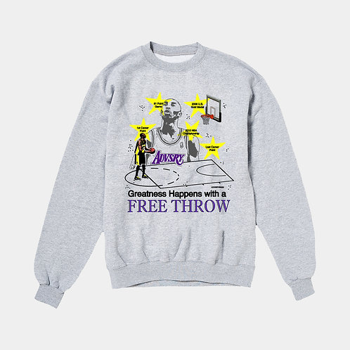 Free Throw Sweater (Heather)