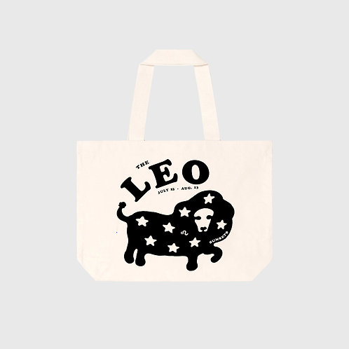 Leo Sunsets Tote (Canvas)