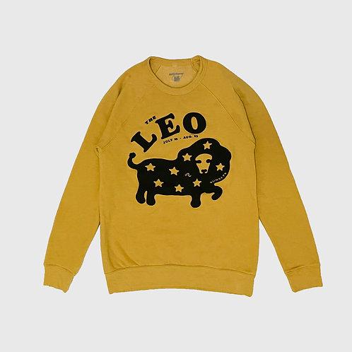 Leo Sunsets Raglan Sweater (Mustard)