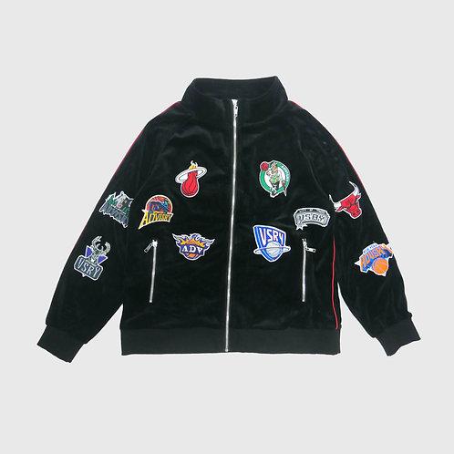 Parody Velour Track Jacket (Black)