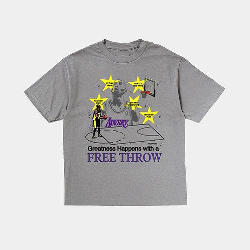 Free Throw Tee (Overdyed Grey)