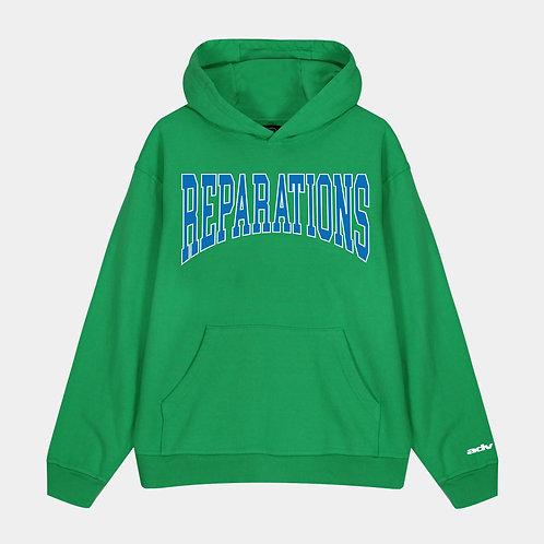 Reparations Hoodie (Green)