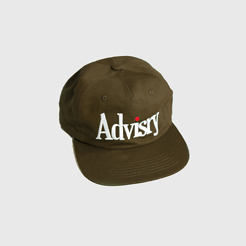 Dot Logo Cap Brown