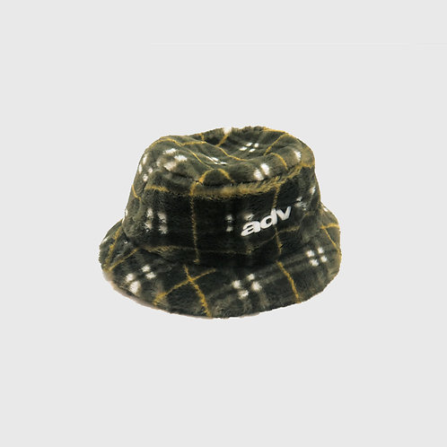 Plaid Fur Bucket
