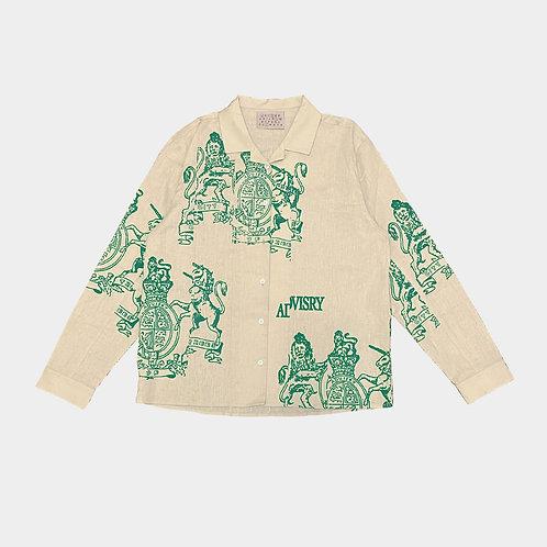 Crest Linen Shirt (Creme)