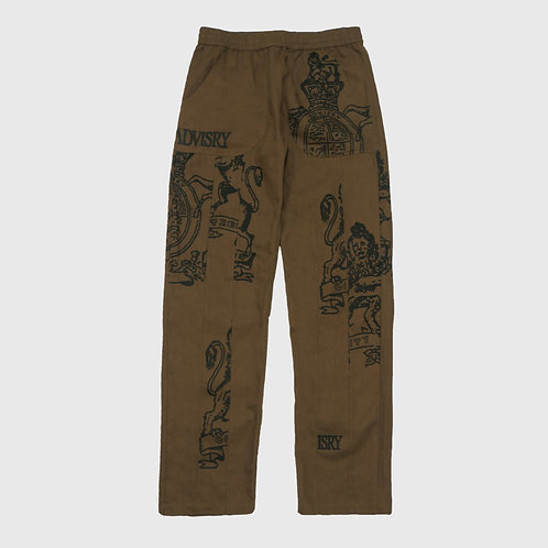 Crest Pants Chocolate