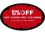 Coupon 10% off any furniture cleaning