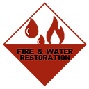 Fire & Watre Restoration Image with fire and Water
