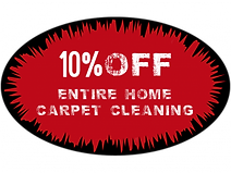 Coupon 10% off entire home carpet cleaning