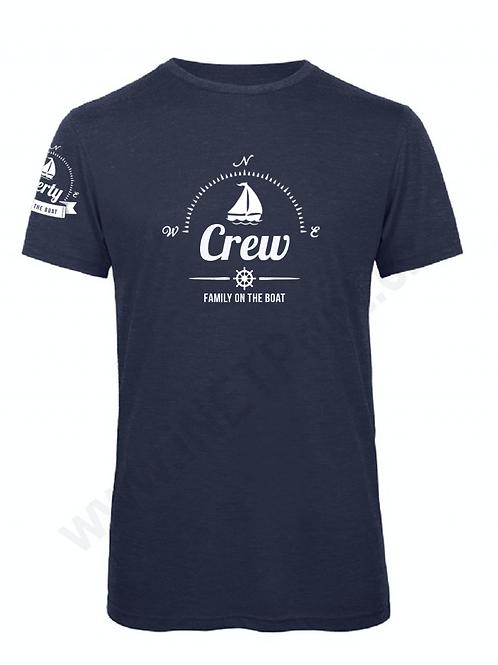 Men's t-shirt - crew - blue