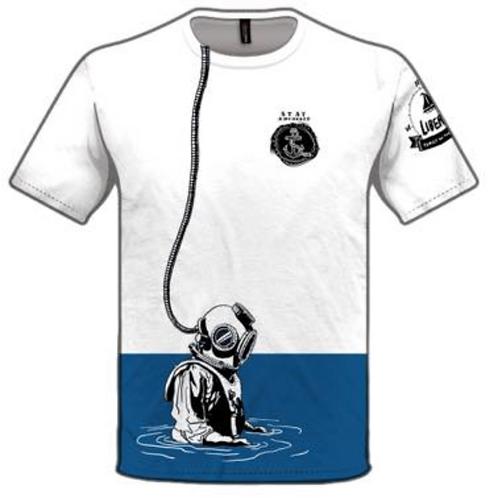 Men's t-shirt - diver
