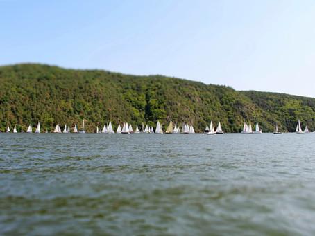 2 regattas at lake Slapy