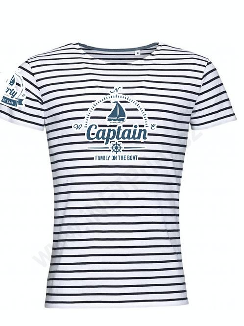 Men's t-shirt - captain - stripes