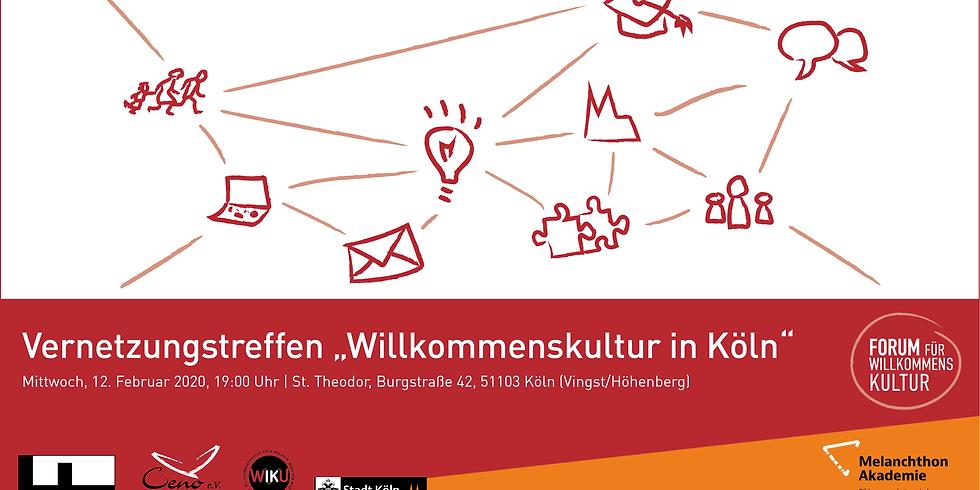 """Einladung Vernetzungstreffen """"Willkommenskultur in Köln"""""""