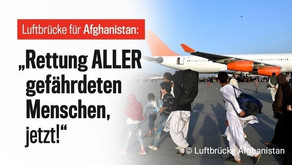 Unterstützung für Afghanistan