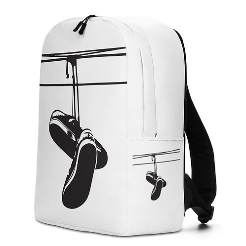 Dope White Backpack