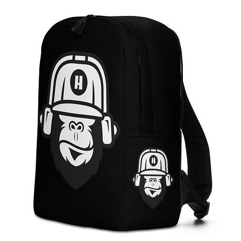 Gorilla Black Backpack