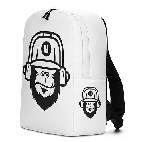 Gorilla White Backpack