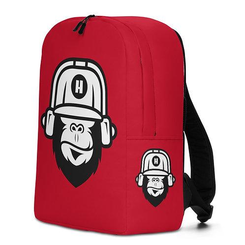 Gorilla Red Backpack