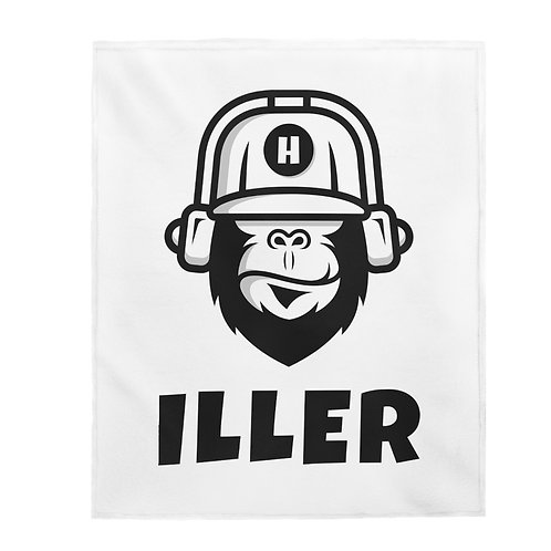 Gorilla Plush Blanket
