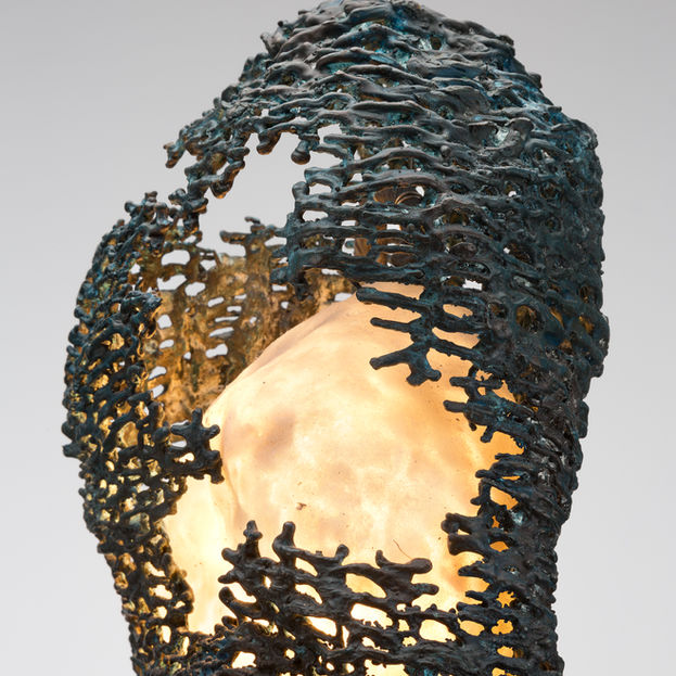 Weaved Bronze Light