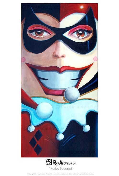 Squared Harley Quinn