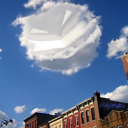 Today's forecast.. sunny with a chance of Mr. Round