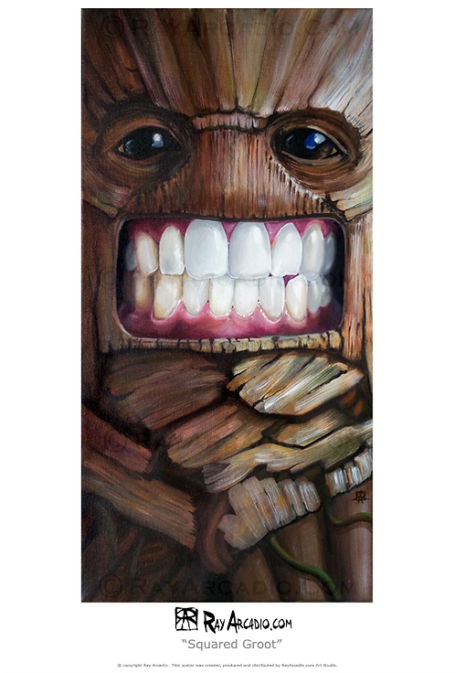 Squared Groot