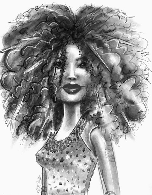 Curly Barbie
