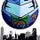 Thumbnail: Round Joker over Jersey City