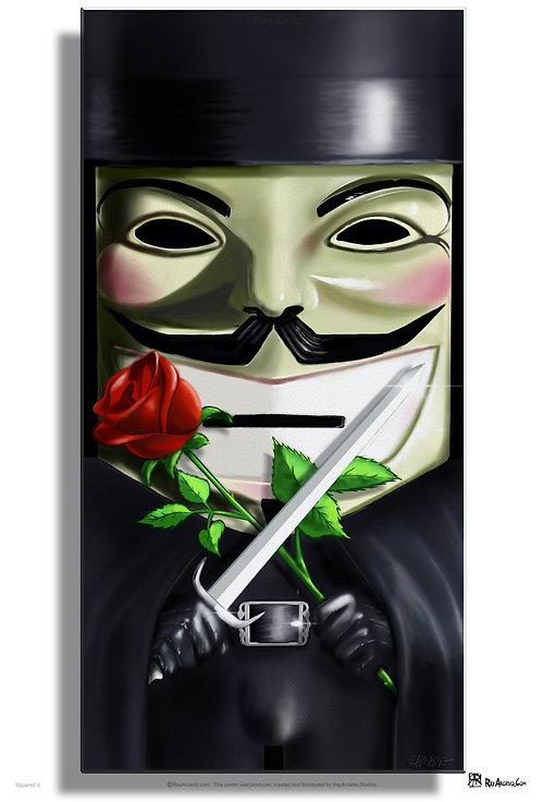 Squared V for Vendetta