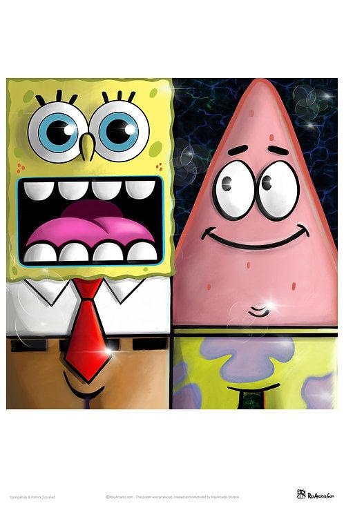 Squared Spongebob and Patrick
