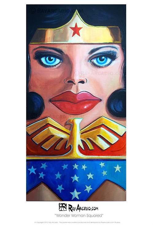Squared Wonder Woman