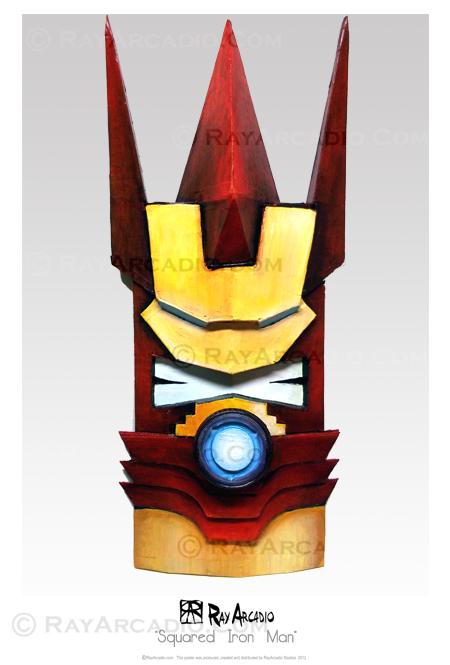 Squared Iron Man Tiki