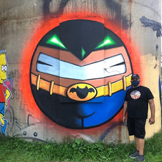 Round Batman, Jersey CIty, NJ