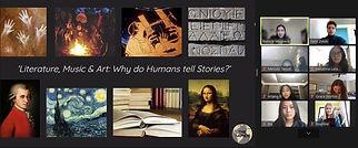 The Sapien literature, music, art.jpg