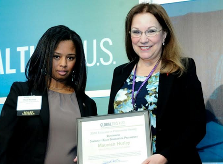Maureen Hurley wins Global Ties' Award