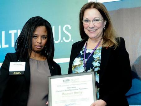 Maureen Hurley wins Global Ties' Award